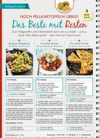 Titelbild der Ausgabe 2/2019 von Noch PellKartoffelN übrig?: Das Beste mit Resten. Zeitschriften als Abo oder epaper bei United Kiosk online kaufen.