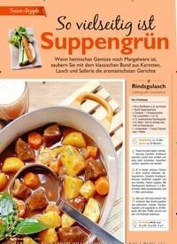 Titelbild der Ausgabe 3/2019 von Saison-Rezepte: So vielseitig ist Suppengrün. Zeitschriften als Abo oder epaper bei United Kiosk online kaufen.