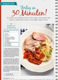 Titelbild der Ausgabe 3/2019 von Ruckzuck serviert: Fertig in 30 Minuten!. Zeitschriften als Abo oder epaper bei United Kiosk online kaufen.