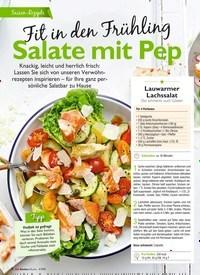 Titelbild der Ausgabe 4/2019 von Fit in den Frühling: Salate mit Pep. Zeitschriften als Abo oder epaper bei United Kiosk online kaufen.