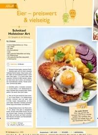 Titelbild der Ausgabe 4/2019 von Aktuell: Eier – preiswert & vielseitig. Zeitschriften als Abo oder epaper bei United Kiosk online kaufen.