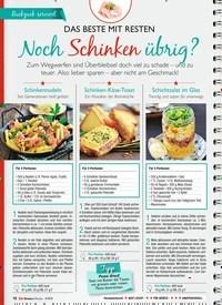 Titelbild der Ausgabe 4/2019 von DAS BESTE MIT RESTEN: Noch Schinken übrig?. Zeitschriften als Abo oder epaper bei United Kiosk online kaufen.