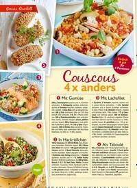 Titelbild der Ausgabe 5/2019 von Genuss-Quartett: Couscous 4 x anders. Zeitschriften als Abo oder epaper bei United Kiosk online kaufen.
