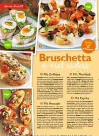 Titelbild der Ausgabe 8/2019 von Bruschetta 4-mal anders. Zeitschriften als Abo oder epaper bei United Kiosk online kaufen.