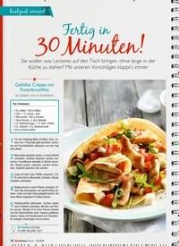 Titelbild der Ausgabe 8/2019 von Fertig in 30 Minuten!. Zeitschriften als Abo oder epaper bei United Kiosk online kaufen.