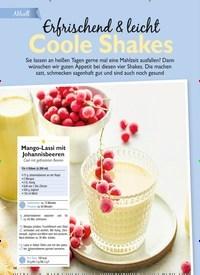 Titelbild der Ausgabe 7/2020 von Erfrischend & leicht Coole Shakes. Zeitschriften als Abo oder epaper bei United Kiosk online kaufen.