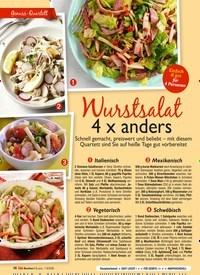 Titelbild der Ausgabe 7/2020 von Wurstsalat 4 x anders. Zeitschriften als Abo oder epaper bei United Kiosk online kaufen.