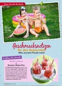 Titelbild der Ausgabe 9/2020 von Geschmacksnotizen. Zeitschriften als Abo oder epaper bei United Kiosk online kaufen.