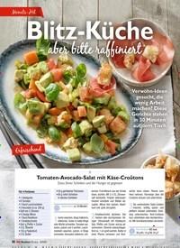 Titelbild der Ausgabe 9/2020 von Blitz-Küche aber bitte raffiniert. Zeitschriften als Abo oder epaper bei United Kiosk online kaufen.