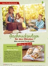Titelbild der Ausgabe 10/2020 von Geschmacksnotizen für den Oktober. Zeitschriften als Abo oder epaper bei United Kiosk online kaufen.