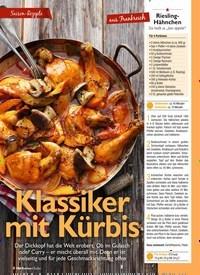 Titelbild der Ausgabe 10/2020 von Saison-Rezepte: Klassiker mit Kürbis. Zeitschriften als Abo oder epaper bei United Kiosk online kaufen.
