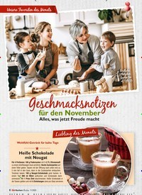 Titelbild der Ausgabe 11/2020 von Geschmacksnotizen für den November. Zeitschriften als Abo oder epaper bei United Kiosk online kaufen.