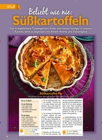 Titelbild der Ausgabe 11/2020 von Beliebt wie nie: Süßkartoffeln. Zeitschriften als Abo oder epaper bei United Kiosk online kaufen.