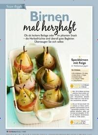 Titelbild der Ausgabe 11/2020 von Birnen mal herzhaft. Zeitschriften als Abo oder epaper bei United Kiosk online kaufen.
