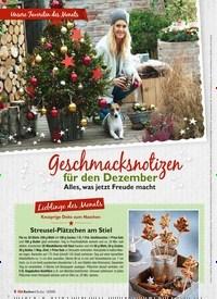 Titelbild der Ausgabe 12/2020 von Geschmacksnotizen für den Dezember. Zeitschriften als Abo oder epaper bei United Kiosk online kaufen.