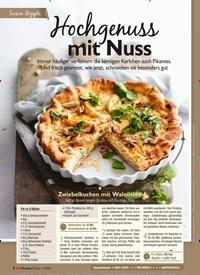 Titelbild der Ausgabe 12/2020 von Saison-Rezepte: Hochgenuss mit Nuss. Zeitschriften als Abo oder epaper bei United Kiosk online kaufen.