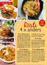 Titelbild der Ausgabe 12/2020 von Rösti 4 x anders. Zeitschriften als Abo oder epaper bei United Kiosk online kaufen.