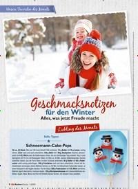 Titelbild der Ausgabe 2/2021 von Unsere Favoriten des Monats: Geschmacksnotizen für den Winter: Alles, was jetzt Freude macht: Liebling des Monats. Zeitschriften als Abo oder epaper bei United Kiosk online kaufen.