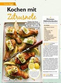 Titelbild der Ausgabe 3/2021 von Kochen mit Zitrusnote. Zeitschriften als Abo oder epaper bei United Kiosk online kaufen.