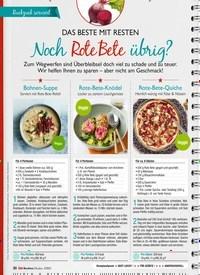 Titelbild der Ausgabe 3/2021 von DAS BESTE MIT RESTEN: Noch Rote Bete übrig?. Zeitschriften als Abo oder epaper bei United Kiosk online kaufen.