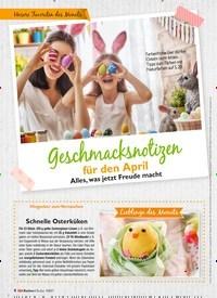 Titelbild der Ausgabe 4/2021 von Geschmacksnotizen für den April. Zeitschriften als Abo oder epaper bei United Kiosk online kaufen.
