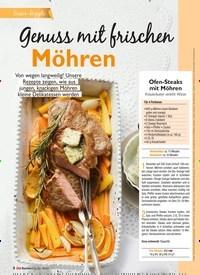 Titelbild der Ausgabe 4/2021 von Genuss mit frischen Möhren. Zeitschriften als Abo oder epaper bei United Kiosk online kaufen.