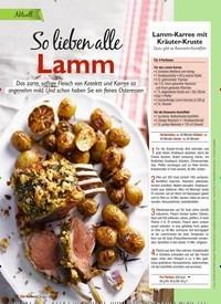 Titelbild der Ausgabe 4/2021 von So lieben alle Lamm. Zeitschriften als Abo oder epaper bei United Kiosk online kaufen.