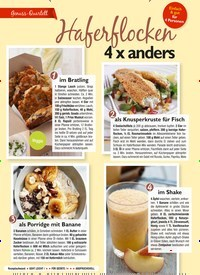 Titelbild der Ausgabe 4/2021 von Haferflocken 4 x anders. Zeitschriften als Abo oder epaper bei United Kiosk online kaufen.
