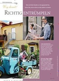 Titelbild der Ausgabe 1/2019 von Wohnberatung: Weg damit! RICHTIG ENTRÜMPELN. Zeitschriften als Abo oder epaper bei United Kiosk online kaufen.
