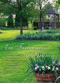 Titelbild der Ausgabe 4/2019 von Ein Farbenmeer im Grünen. Zeitschriften als Abo oder epaper bei United Kiosk online kaufen.
