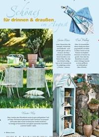 Titelbild der Ausgabe 8/2019 von Schänes für drinnen & draußen im August. Zeitschriften als Abo oder epaper bei United Kiosk online kaufen.