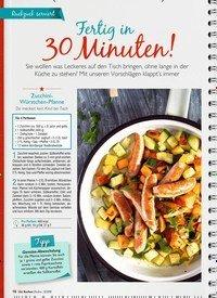Titelbild der Ausgabe 6/2019 von Fertig in 30 Minuten!. Zeitschriften als Abo oder epaper bei United Kiosk online kaufen.