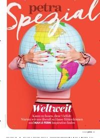Titelbild der Ausgabe 7/2019 von Weltweit: Hin &weg. Zeitschriften als Abo oder epaper bei United Kiosk online kaufen.