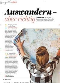 Titelbild der Ausgabe 7/2019 von weltweit: Auswandern aber richtig. Zeitschriften als Abo oder epaper bei United Kiosk online kaufen.