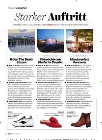 Titelbild der Ausgabe 9/2019 von Ausgehen: Starker Auftritt. Zeitschriften als Abo oder epaper bei United Kiosk online kaufen.