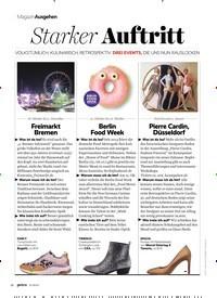 Titelbild der Ausgabe 11/2019 von MagazinAusgehen: Starker Auftritt. Zeitschriften als Abo oder epaper bei United Kiosk online kaufen.