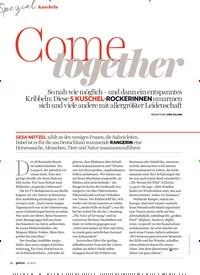 Titelbild der Ausgabe 11/2019 von Kuscheln: Cotomgeether. Zeitschriften als Abo oder epaper bei United Kiosk online kaufen.