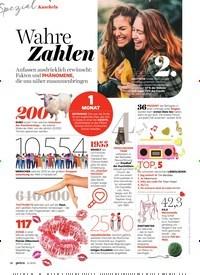 Titelbild der Ausgabe 11/2019 von Kuscheln: Wahre Zahlen. Zeitschriften als Abo oder epaper bei United Kiosk online kaufen.