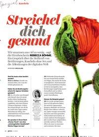 Titelbild der Ausgabe 11/2019 von Kuscheln: Streichel dich gesund. Zeitschriften als Abo oder epaper bei United Kiosk online kaufen.