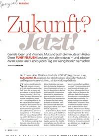 Titelbild der Ausgabe 12/2019 von Weitblick: Zukunft? Jetzt!. Zeitschriften als Abo oder epaper bei United Kiosk online kaufen.