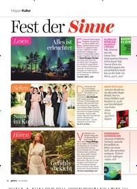 Titelbild der Ausgabe 2/2020 von h3@MagazinKultur: Fest der Sinne. Zeitschriften als Abo oder epaper bei United Kiosk online kaufen.