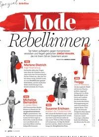 Titelbild der Ausgabe 2/2020 von Mode Rebellinnen. Zeitschriften als Abo oder epaper bei United Kiosk online kaufen.