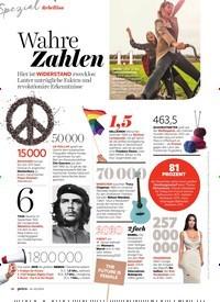 Titelbild der Ausgabe 2/2020 von Wahre Zahlen. Zeitschriften als Abo oder epaper bei United Kiosk online kaufen.