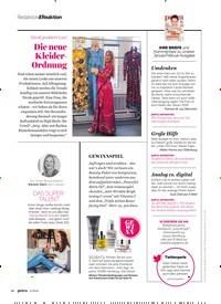 Titelbild der Ausgabe 4/2020 von Nicole probiert's an! Die neue Kleider- Ordnung. Zeitschriften als Abo oder epaper bei United Kiosk online kaufen.