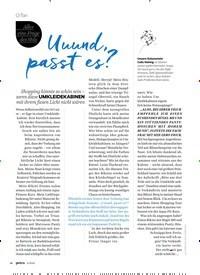 Titelbild der Ausgabe 4/2020 von O-Ton: Uuund, passt es?. Zeitschriften als Abo oder epaper bei United Kiosk online kaufen.