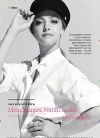 Titelbild der Ausgabe 4/2020 von AMANDA SEYFRIED: Mein Mantra: Nimm nichts persönlich!. Zeitschriften als Abo oder epaper bei United Kiosk online kaufen.