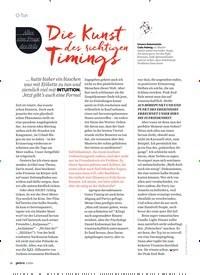 Titelbild der Ausgabe 5/2020 von Die Kunst des richtigenTimings. Zeitschriften als Abo oder epaper bei United Kiosk online kaufen.