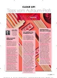 Titelbild der Ausgabe 5/2020 von CLEAR UP!Tipps vom Aufräum-Profi. Zeitschriften als Abo oder epaper bei United Kiosk online kaufen.