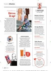 Titelbild der Ausgabe 7/2020 von Redaktion&Reaktion: Dress it up!. Zeitschriften als Abo oder epaper bei United Kiosk online kaufen.