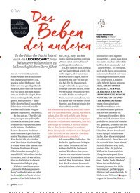 Titelbild der Ausgabe 7/2020 von Das Beben der anderen. Zeitschriften als Abo oder epaper bei United Kiosk online kaufen.